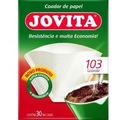 Filtro de Papel 103 com 30 unidades - Jovita