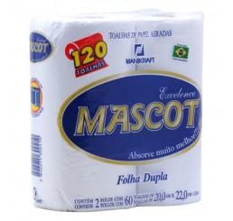 Toalha de Papel - Mascot - Pacote com 2 Rolos
