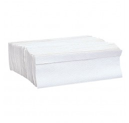 Papel Toalha 3 Dobras Polar Branco - Caixa com 1250 Folhas