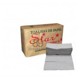 Papel Toalha Creme 2 Dobras Com 1000 Folhas
