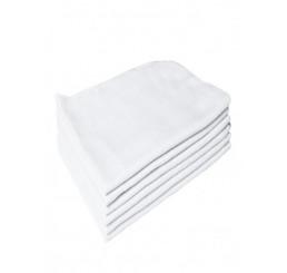 Flanela Branca 40x60 - cada