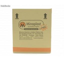 Copo Minaplast 500 ml ABNT2012 - Branco - Caixa com 1000 Unidades