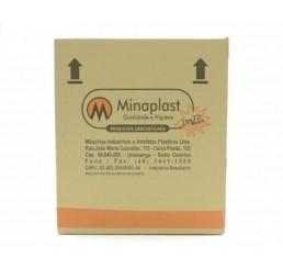 Copo Minaplast 180ml ABNT2012 - Translucido - Caixa com 2500 Unidades
