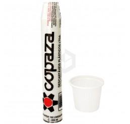 PCT de Copo 50ml Copaza ABNT2012 - branco - com 100