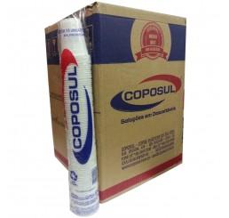 Copo Coposul 50ml ABNT2012 - Branco - Caixa com 5000 Unidades