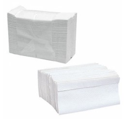 Papel Toalha 2 Dobras 100%Celulose Virgem - Pop 21X23