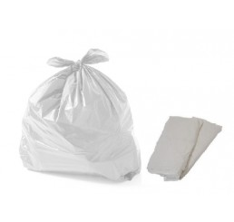 Saco para Lixo 40 LT Leitoso - pacote - reforçado