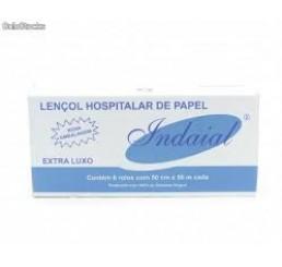 Lençol Hospitalar 50X50 Super Luxo - caixa com 6