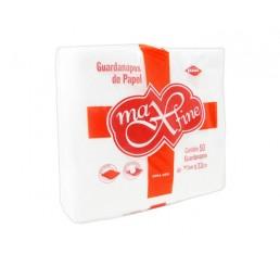 Guardanapo Max Fine Folha Simples 30cmX32cm com 50 unidades