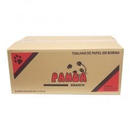 Papel Toalha Bobina 8X20X100 Branco Panda
