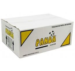 Papel Toalha Bobina 6X20X200M  -  Panda 100% Celulose