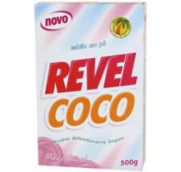 Sabão em Pó - Revel Coco 500gr