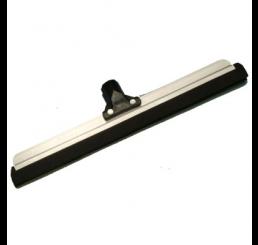 Rodo Alumínio com 1 borracha de 40cm c/ cabo de madeira plastificado