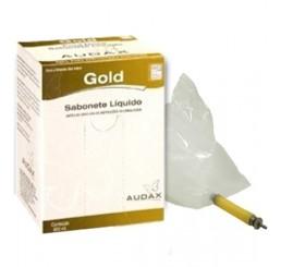 Sabonete Sache 800ml Gold Audax
