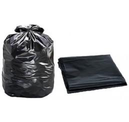 Saco para Lixo 60L Preto - pacote