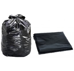Saco para Lixo 200 LT Preto - pacote - PU
