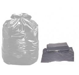 Saco para Lixo 60 LT Cinza - pacote - reforçado