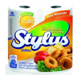 Toalha de Papel - Stylus - Pacote com 2 Rolos