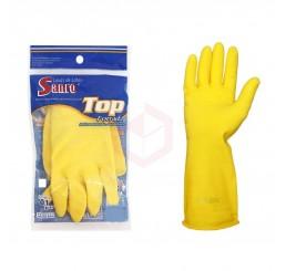 Luva Sanro Top (M) - Amarela