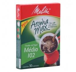 Filtro de Papel 102 com 30 unidades - Melitta