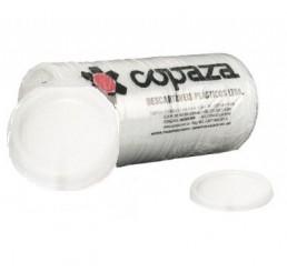 PCT - Tampa para copo Copaza 100ml ABNT2012 - Branco (TP-06)