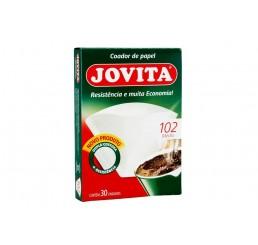 Filtro de Papel 102 com 30 unidades - Jovita
