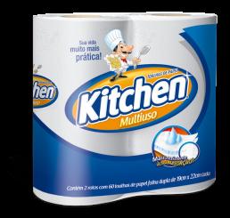 Toalha de Papel - Kitchen - Pacote com 2 Rolos