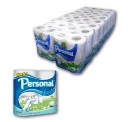 Papel Higienico Folha Simples Personal com 64 rolos