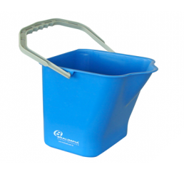 Balde 15 Litros com Alça Azul - Cód BA15AZ - Bralimpia