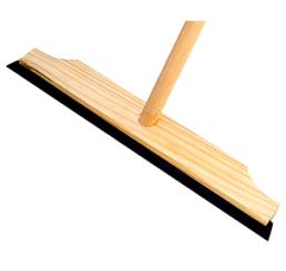 Rodo Madeira 40cm - Simples