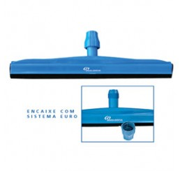 Rodo Plástico 65cm DRY Azul - Cód RN65AZ - Bralimpia