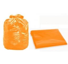 Saco para Lixo 200 LT Laranja - pacote - P4
