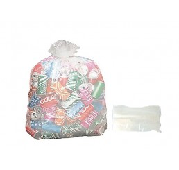 Saco para Lixo 20 LT Transparente - pacote