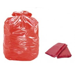 Saco para Lixo 300 LT Vermelho - pacote - P8