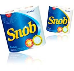 Toalha de Papel - Snob - Pacote com 2 Rolos