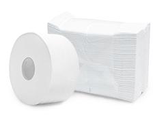 Papel higiênico e Interfolhas